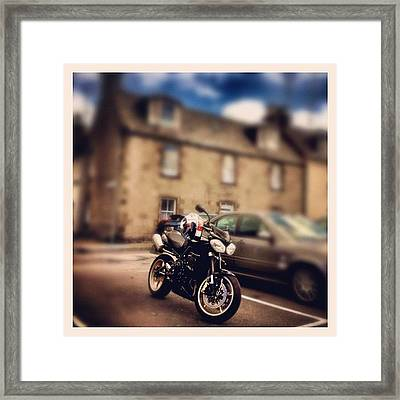 Went Out For A Wee Spin Today! Kinda Framed Print