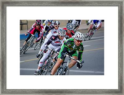 We're Moving Now Framed Print