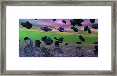 Were Out Of Here Framed Print by Wayne Bonney