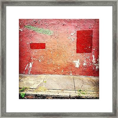 Werewall Framed Print