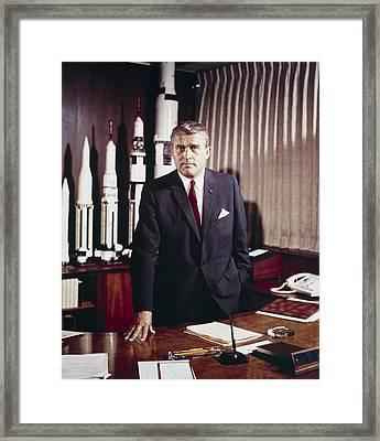 Wernher Von Braun 1912-1977 Framed Print