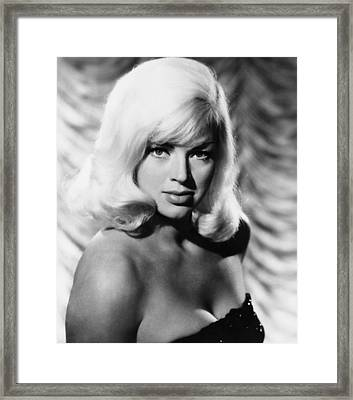 West 11, Diana Dors, 1963 Framed Print
