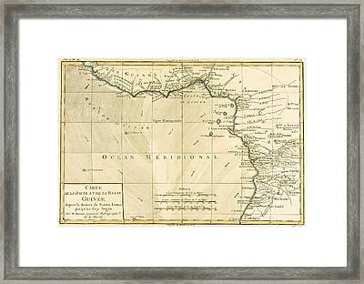 West Africa Framed Print by Guillaume Raynal