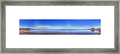 West Bay In Traverse City Framed Print by Twenty Two North Photography