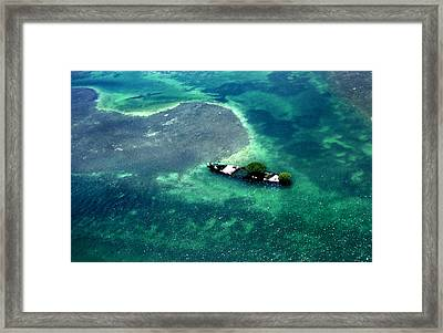 West By West Of Key West Framed Print by Skip Willits