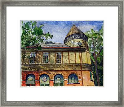 West Chester Library Framed Print by Michael Stancato