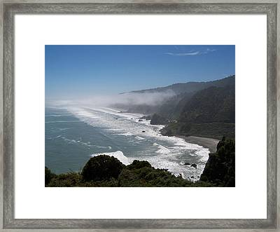Framed Print featuring the photograph West Coast - South Island 2 by Peter Mooyman