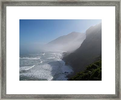 Framed Print featuring the photograph West Coast- South Island by Peter Mooyman