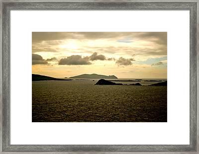 West Dingle Framed Print