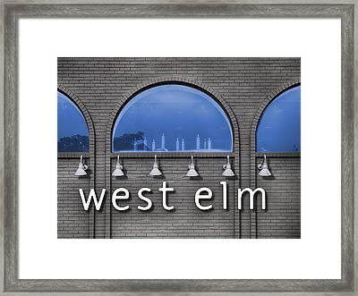 West Elm Framed Print by Paul Wear