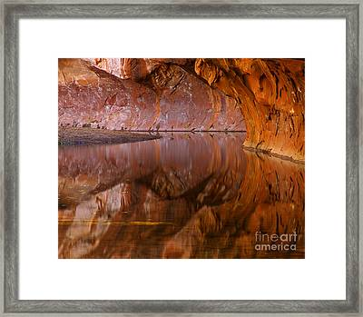 West Fork Illusion Framed Print by Mike  Dawson