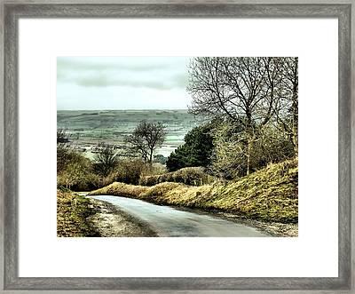 West Heslerton Framed Print