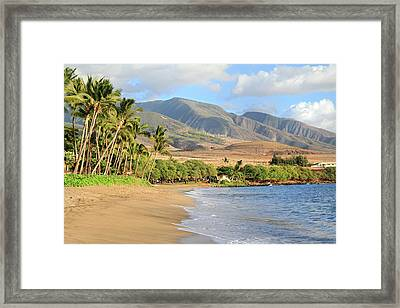 West  Maui Framed Print by Pierre Leclerc Photography