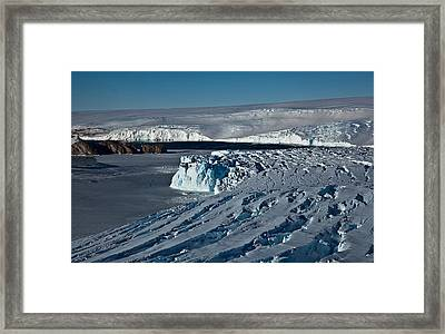 West Of Davis Framed Print by David Barringhaus