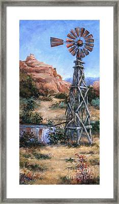 West Texas And Beyond Framed Print