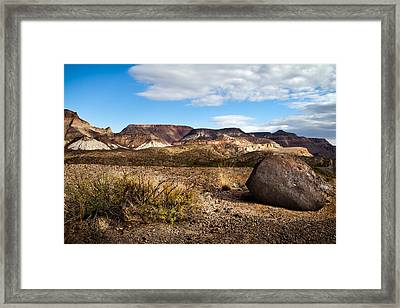 West Texas Framed Print