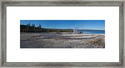 West Thumb Calderas Framed Print