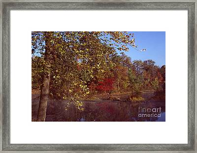 Framed Print featuring the photograph West Twin Pit by Jack R Brock