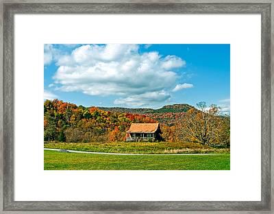 West Virginia Homestead Framed Print by Steve Harrington