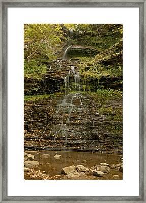 West Virginia Waterfall Framed Print