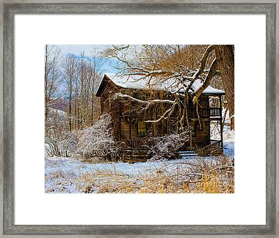 West Virginia Winter Framed Print