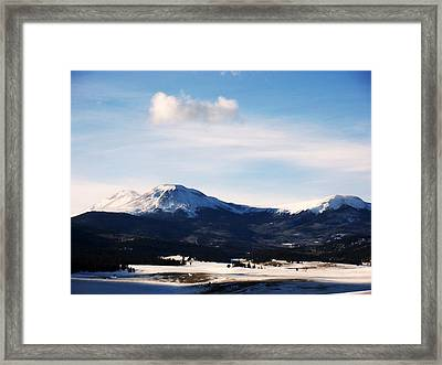 Western Beauty Framed Print