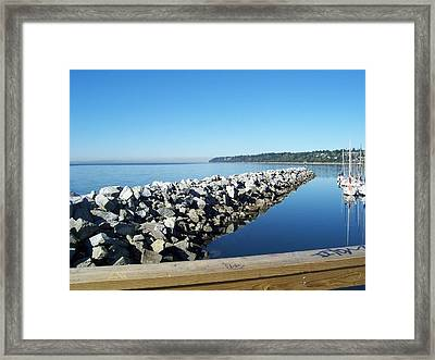Framed Print featuring the photograph Western Canada by Sheila Silverstein