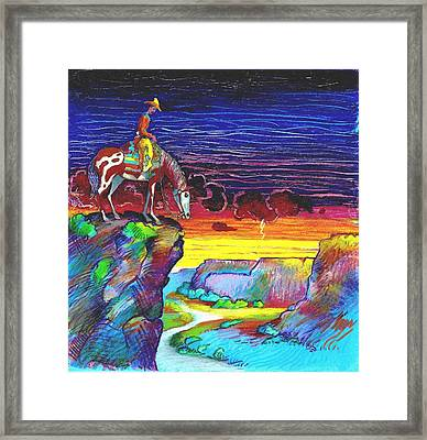 Western Grand View Framed Print by Rob M Harper