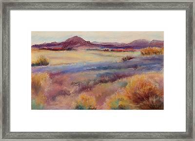 Western Landscape Framed Print by Rita Bentley