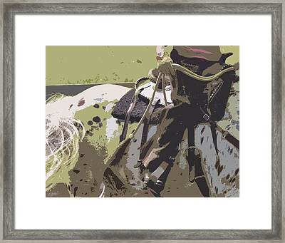 Western Ways Framed Print by Betsy Knapp