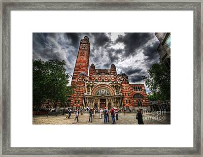 Westminster Cathedral Framed Print by Yhun Suarez