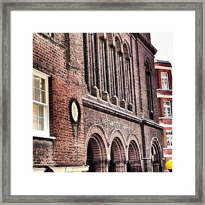 Westminster Chapel, London | Framed Print