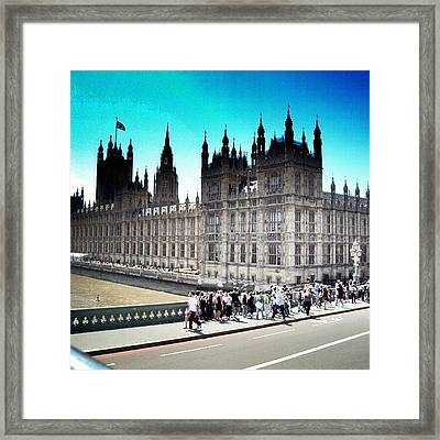 Westminster, London 2012 | #london Framed Print by Abdelrahman Alawwad