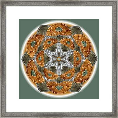 Westminster Star Framed Print by Linda Pope