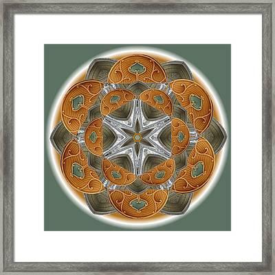 Westminster Star Framed Print by Linda Pope