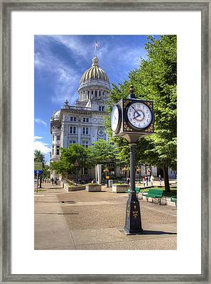 Westmoreland County Courthouse Framed Print by Coby Cooper