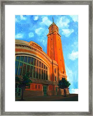 Westside Market Framed Print