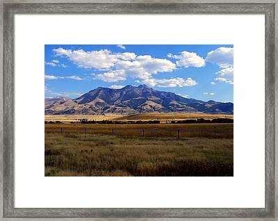 Westward Bound Framed Print by Karen Wiles