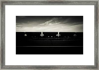 Westward Bound Framed Print