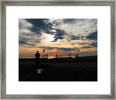 Framed Print featuring the photograph Westward View by Michael Friedman