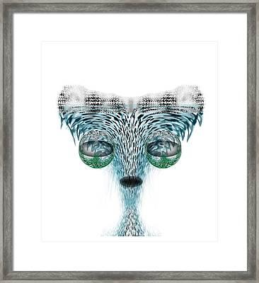 Wet Alien Framed Print