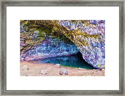 Wet Cave Three Framed Print