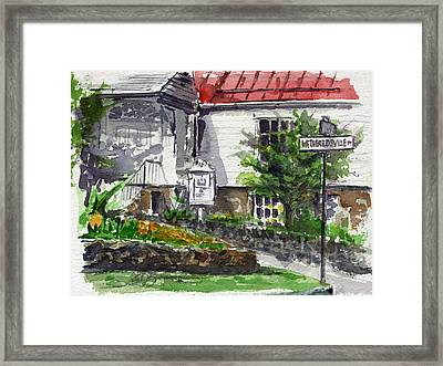 Wetheredsville Street Framed Print