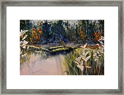 Wetlands Framed Print by Carolyn Rosenberger