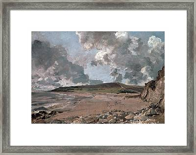 Weymouth Bay With Jordan Hill Framed Print