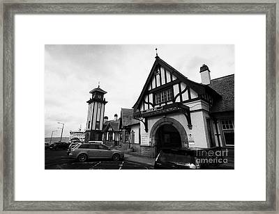 Weymss Bay Railway Station Scotland Uk Framed Print by Joe Fox