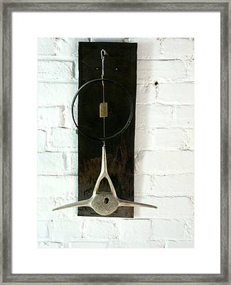 Rim And Bone Framed Print by Ber Lazarus