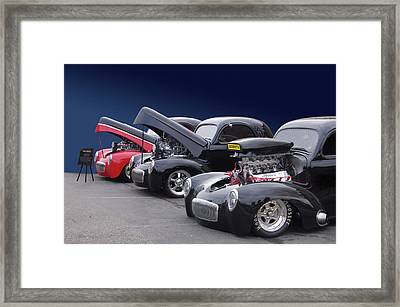 Framed Print featuring the photograph Whas In Your Willys by Bill Dutting