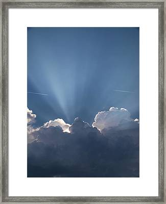 What A Light Show Framed Print