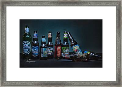 What A Night Framed Print by Gary Prill
